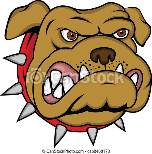 Dog head - csp8468173