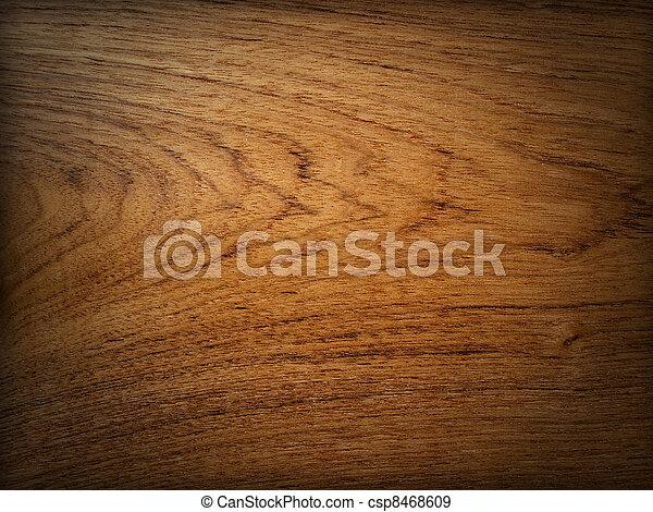 Teak wood background - csp8468609