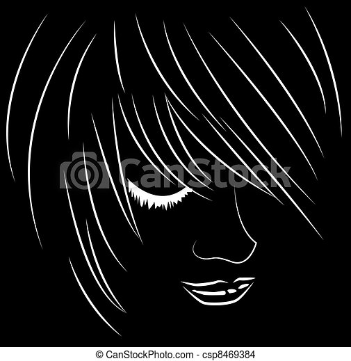 emo, rosto - csp8469384