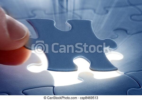 last piece of a Puzzle - csp8469513