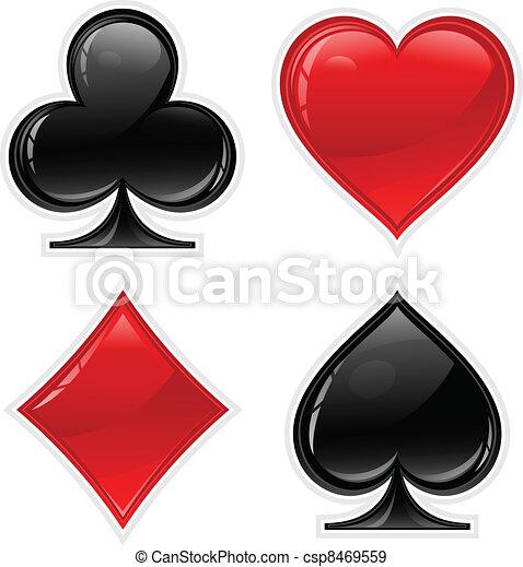 Card suit - csp8469559