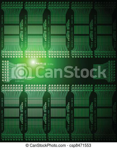 Electronic background - csp8471553