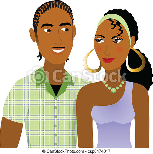 Couple in Love - csp8474017