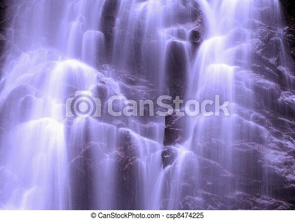 Waterfall - csp8474225