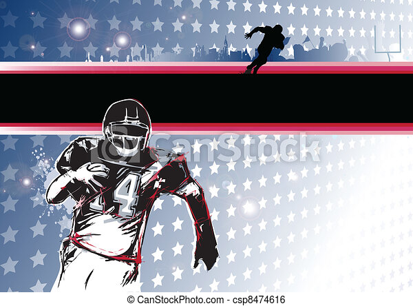 passion of the american football - csp8474616