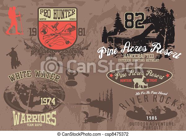 mountain hike activities - csp8475372