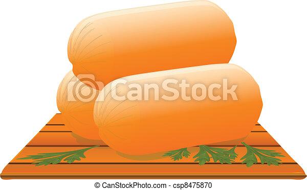 Frankfurter sausage - csp8475870