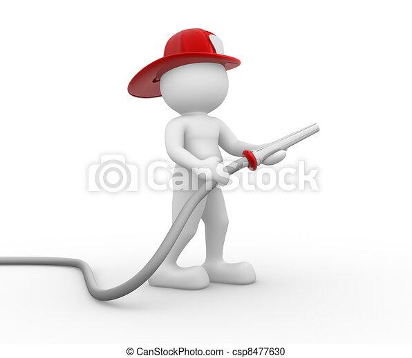 Fireman - csp8477630