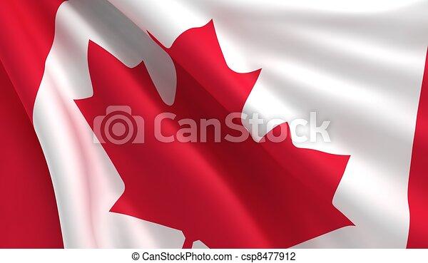 Flag of Canada - csp8477912