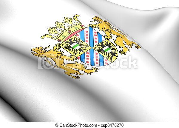Groningen Coat of Arms, Netherlands.  - csp8478270