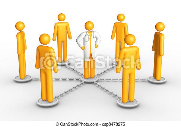 Health Network - csp8478275