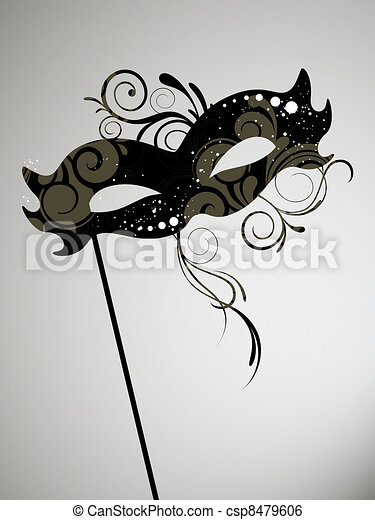 Venetian mask - csp8479606