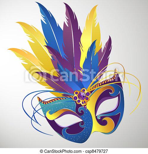Carnival mask - csp8479727