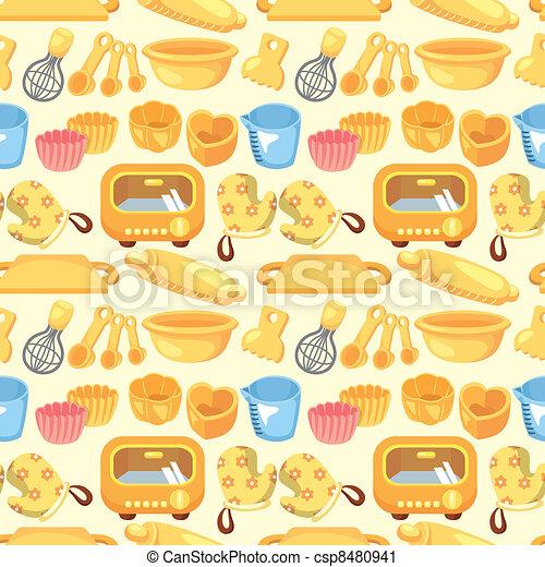 seamless bake tool pattern - csp8480941