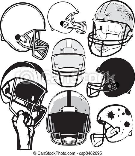 Football helmet Clipart and Stock Illustrations. 7,259 Football ...