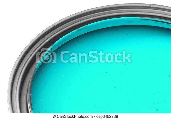 cyan paint - csp8482739