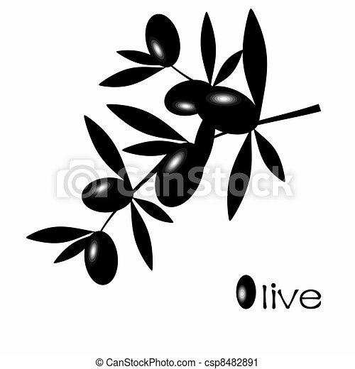 Black Olive - csp8482891