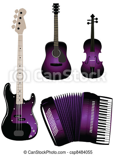 Musical instruments - csp8484055
