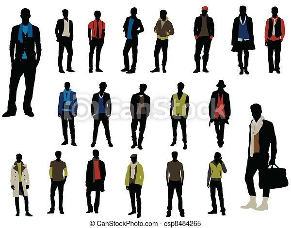 Male fashion - csp8484265