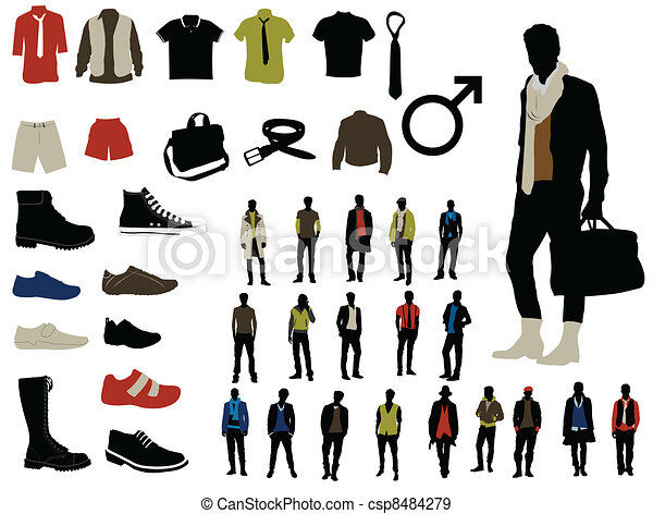 Male fashion - csp8484279