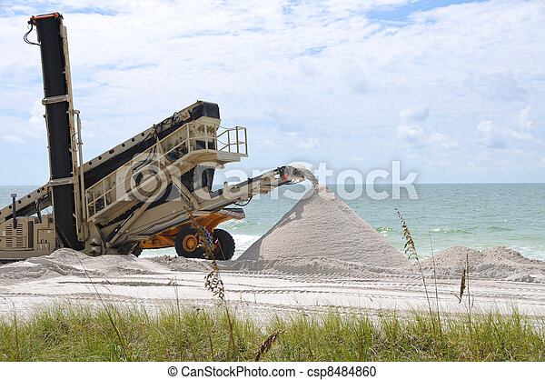 Beach Renourishment - csp8484860