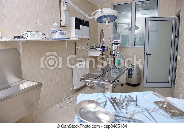 surgery room indoor - csp8485184