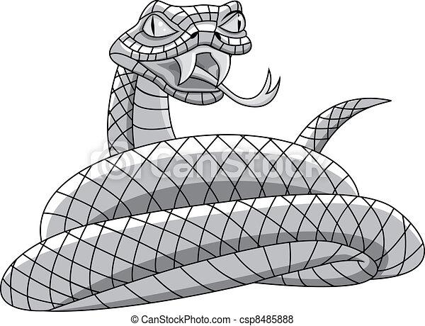 Snake tattoo - csp8485888