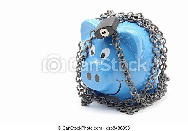 Money Saving and Insurance - csp8486393