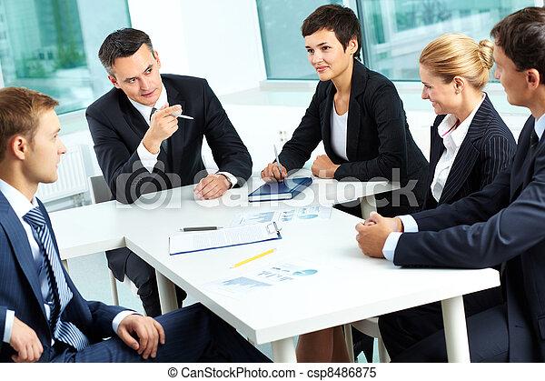 At meeting - csp8486875