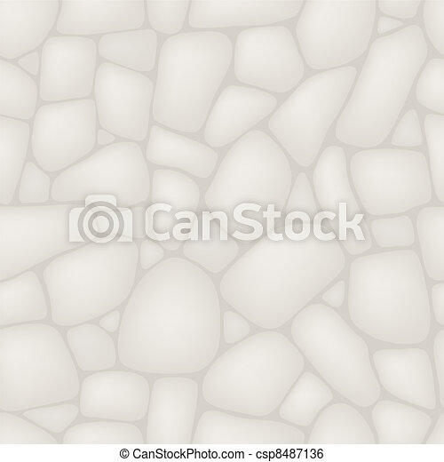 Seamlessly stone wall pattern. - csp8487136