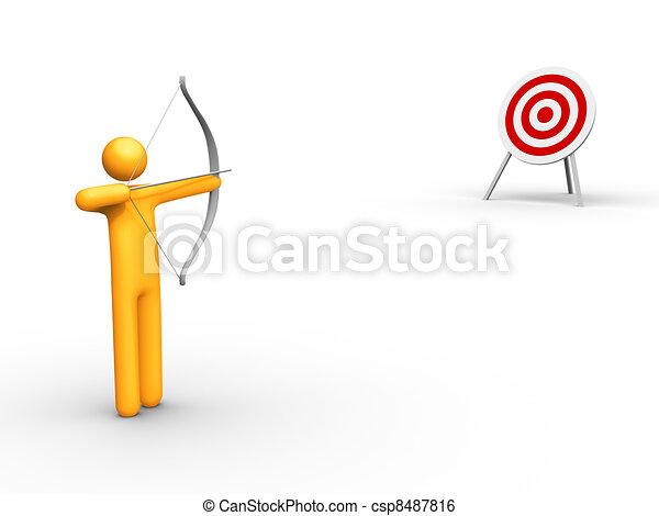 Archery - csp8487816