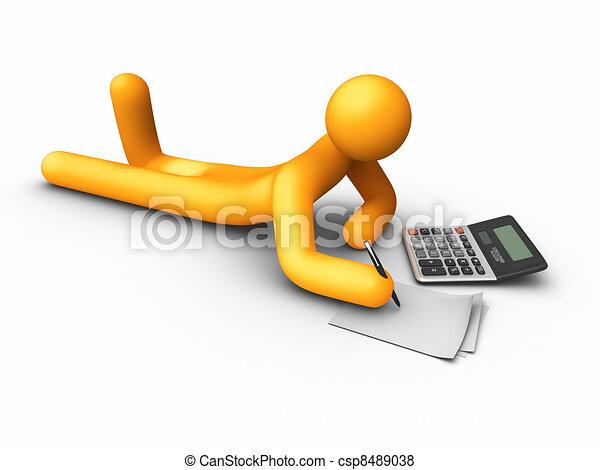 Using Calculator - csp8489038