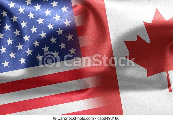 USA Canada - csp8490160