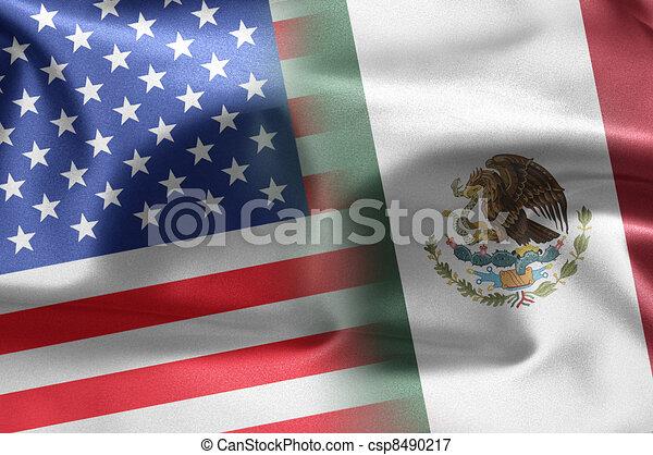 USA Mexico - csp8490217