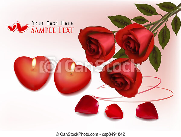 Valentine`s day background. - csp8491842