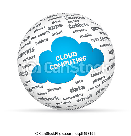 Cloud Computing Sphere - csp8493198