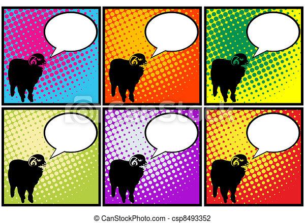 clip art de mouton art pop this mouton a quelque