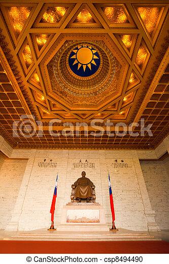 CKS Memorial Inside Ceiling - csp8494490