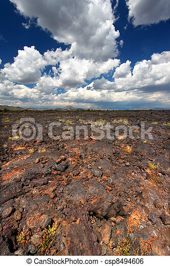 Craters of the Moon Volcanic Scenery - csp8494606