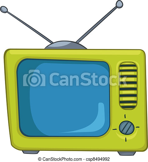 Cartoons TV - csp8494992