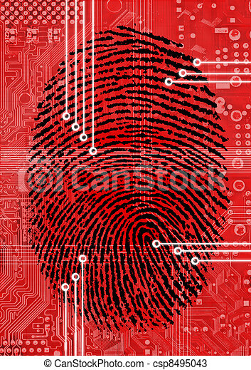 Fingerprint Scanning for secure authorization - csp8495043