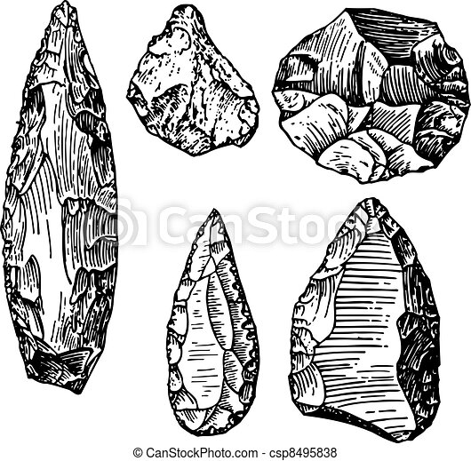 Stone age - csp8495838
