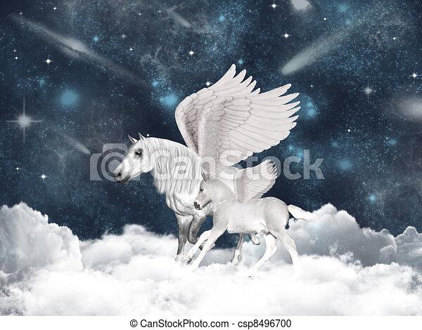 Pegasus family - csp8496700