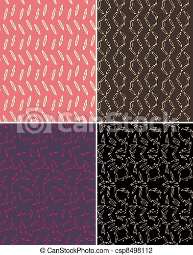 seamless abstract pattern print - csp8498112