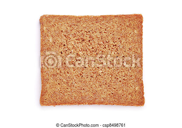 oat bread slice - csp8498761