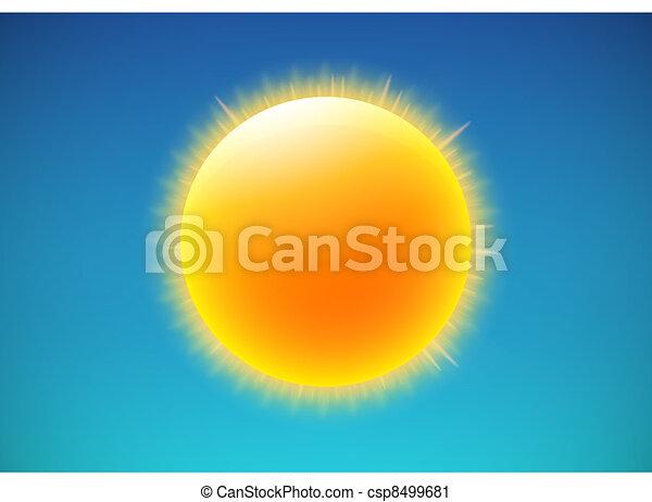 weather icon - csp8499681