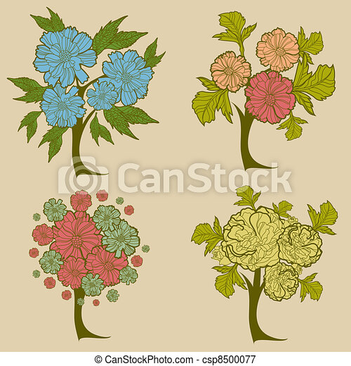 Vector set of trees - csp8500077