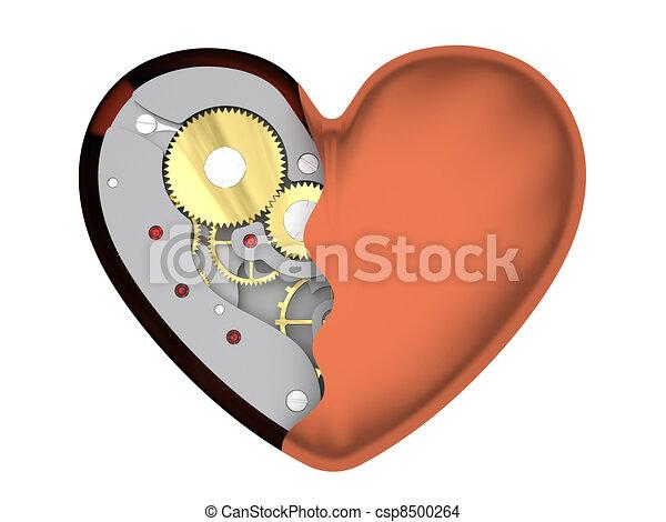 Mechanical heart - csp8500264