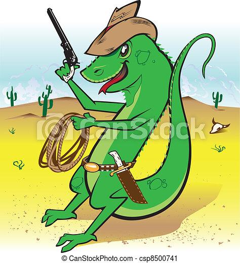 Desert Bounty Hunter - csp8500741