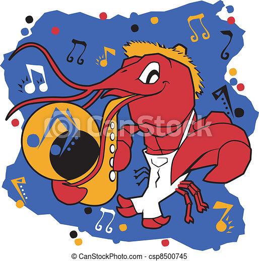 Musical Mudbug - csp8500745